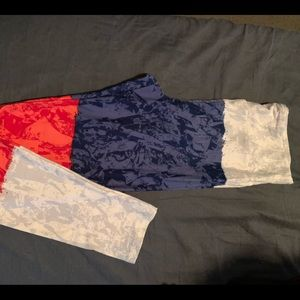 Never Worn 2019 OS Americana LuLaRue leggings